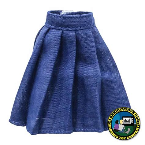 8 inch figure clothes blue dress skirt for 8 inch figures