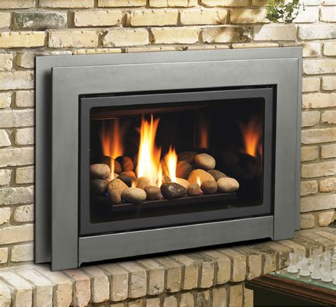 Gas Fireplace Insert Two Sided Gas Fireplace Insert Fireplaces
