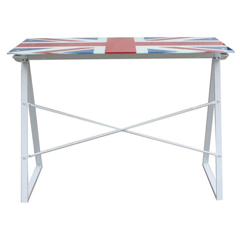 Glass Table Top Desk by Union Glass Top Computer Table Desk Furniture