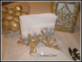 dollar store christmas decorations organized island