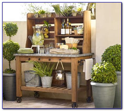 pottery barn potting bench potting table plans with sink bench home design ideas