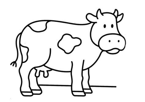 imagenes de dibujos animados para imprimir y colorear pintando dibujos de vacas para imprimir y colorear
