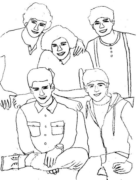 coloring pages free one direction one direction printable coloring pages az coloring pages