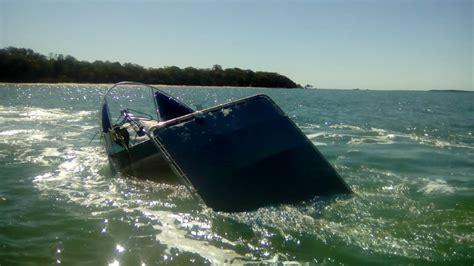 redland bay boat r capsized boat rescue photos redland city bulletin