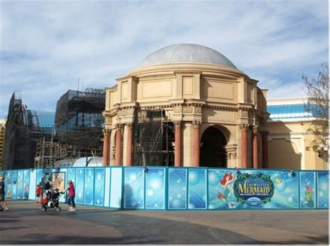 disneyland sets opening dates for little mermaid, star tours 2