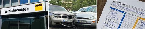 Adac Kfz Versicherung Schadensmeldung by Kfz Schadensmeldung Adac Autoversicherung Ag Ihr