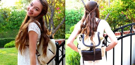 back to school hairstyles and outfits first day back to school makeup hair outfit youtube