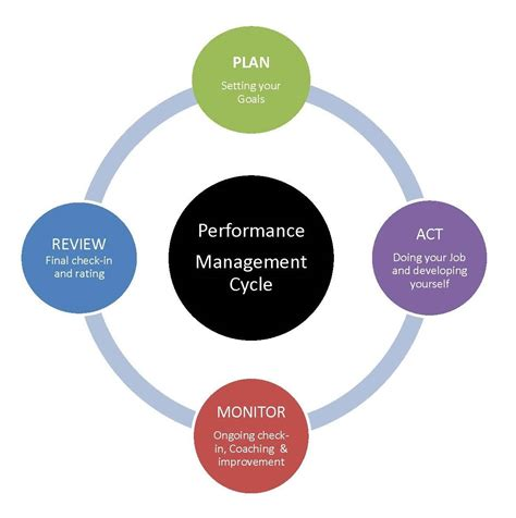performance appraisal diagram diagram of performance management cycle human resources