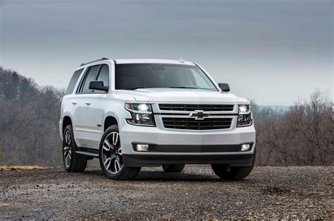 new 2018 chevy tahoe 2018 chevrolet tahoe and suburban rst look motor trend