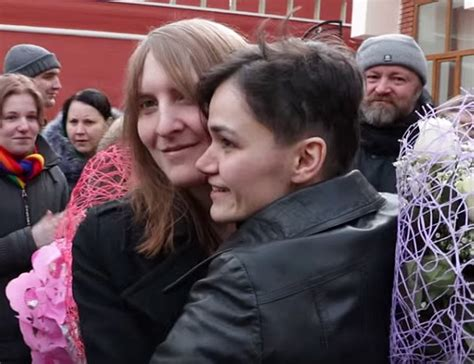 Defiant Russian Lesbians Use Loophole To Get Legally