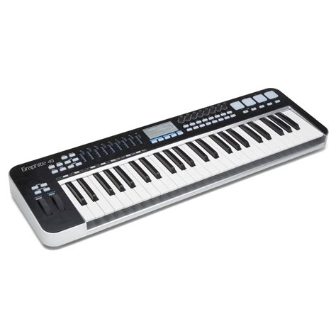 Keyboard Midi samson graphite 49 49 note usb midi controller keyboard at education