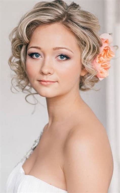 bridal hairstyles for short hair amazing 18 wedding hairstyles for short hair brides