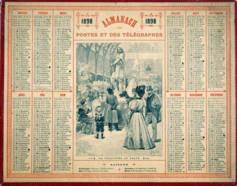 Almanach Calendrier Almanach Ptt