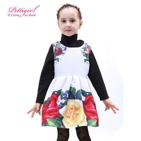 Dress Anak Flower Big pettigirl top sale flower white dress with big ruffle sleeveless dress
