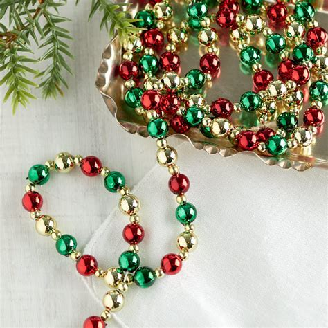 beaded tree garland mini tree beaded garland what s new