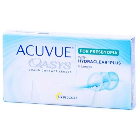 acuvue oasys for presbyopia contact lenses by johnson