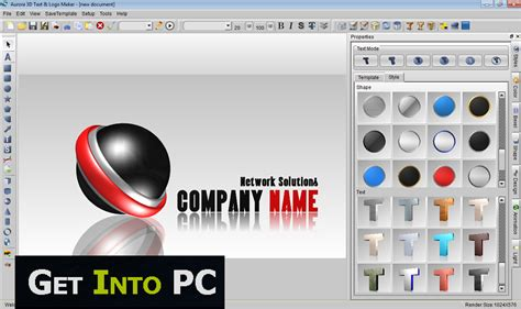 3d text design software free image gallery logo creator