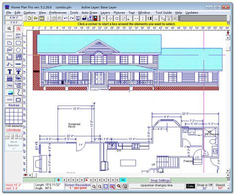 homeplansoft home plan pro 室内装修图纸设计软件 图片预览