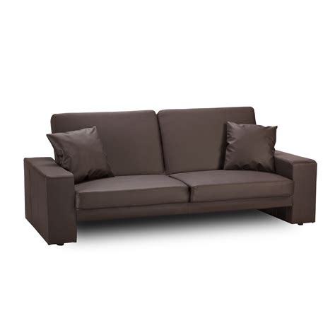 cuba leather sofa bed brown sofabedsworld