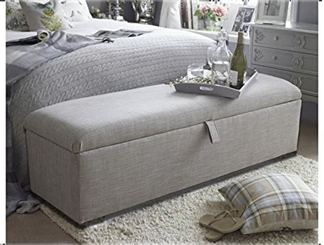 grey ottoman storage box light grey large ottoman storage box chest bench seat