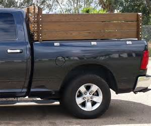 Bed Steps Stake Sides Fence Sides For 2014 Dodge 1500 4x4 Pickup Truck
