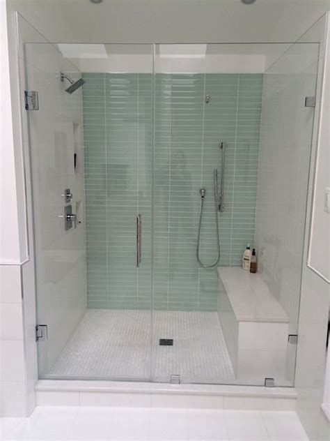 18x18 tile in small bathroom 1000 ideas about glass tile shower on pinterest glass