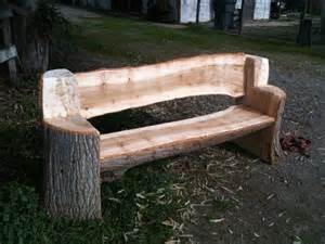 how to make log benches 25 best ideas about log benches on rustic
