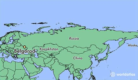 russia map belgorod where is belgorod russia where is belgorod russia