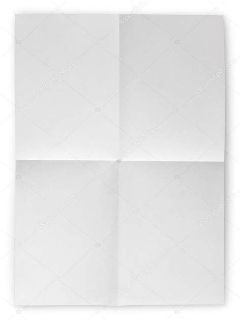Folded Sheet Of Paper - folded blank sheet of paper stock photo 169 usersam2007