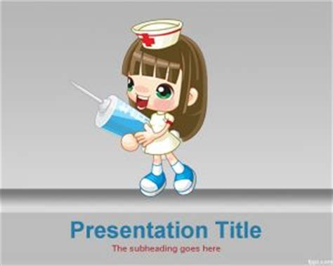 nursing powerpoint templates free powerpoint template