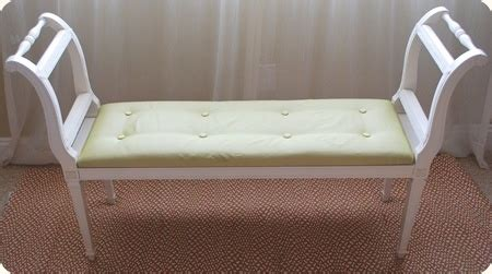 diy reupholster tufted how to reupholster a fabric tufted bench project time