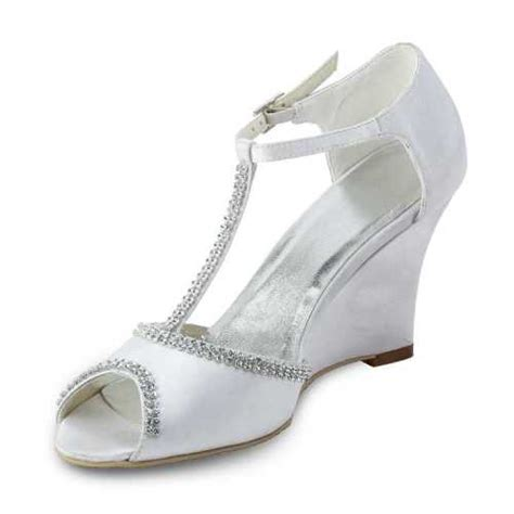 Wedding Shoes Wedges by Bridal Shoes Wedges Uk