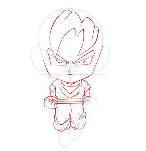imagenes goku para dibujar faciles dibujar a goku chibi paso a paso ilustraideas