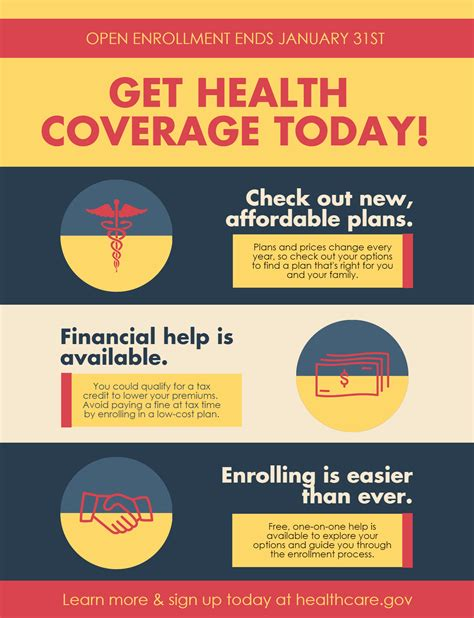 open enrollment flyer template getting ready for open enrollment community catalyst