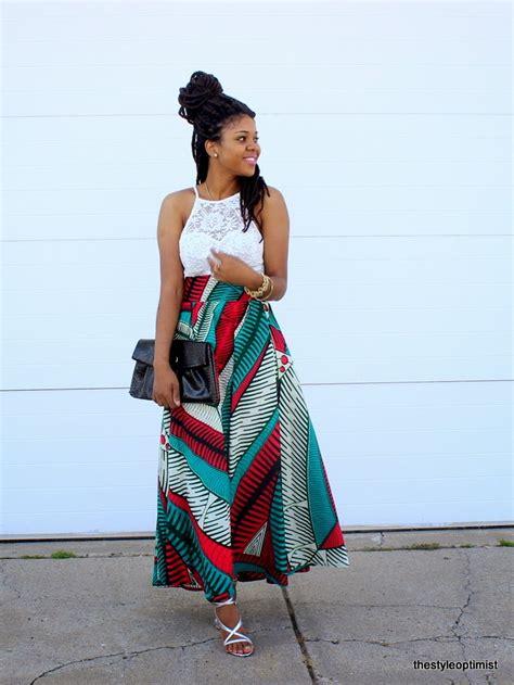 african attire skirt african print maxi skirt style optimist