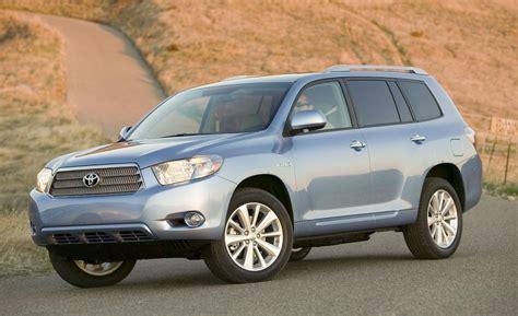Toyota Highlander Hybrid Used Car And Driver