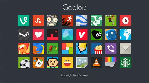 Goolors Square icon pack Free Download – DOWNLOADER of ...