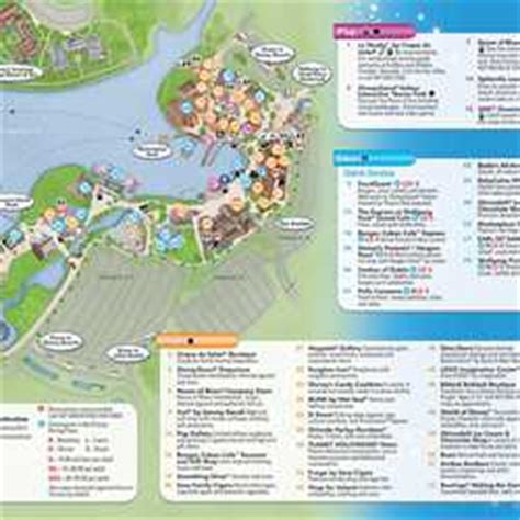 photos new downtown disney guidemap shows pleasure