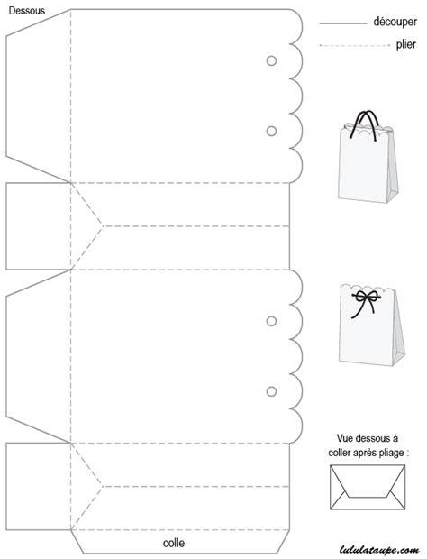 Gabarit de boîte à imprimer et à découper | Verschiddenes
