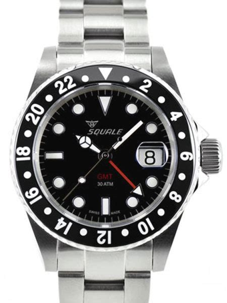 Bor Gmt squale 1545cg cer swiss automatic gmt dive looking s fashion board