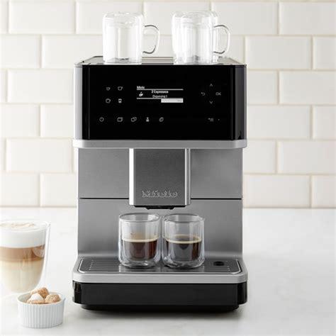 miele espresso miele cm6110 fully automatic espresso maker williams sonoma