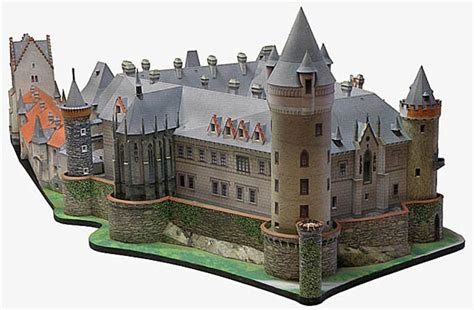 Paper Craft Castle - zleby castle paper model papercraft 2