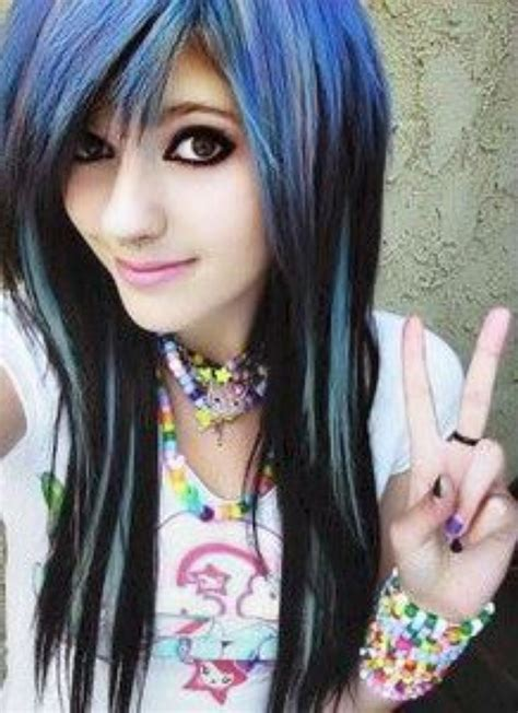 emo hairstyles at home long emo hairstyles for girls women hairstyle ware