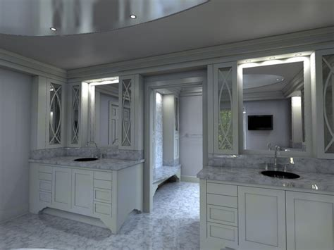 Walk In Closet And Bathroom by Computer Designed Luxury Master Bath And Walk In Closet