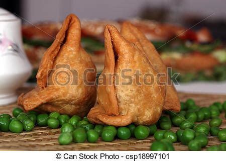 samosa is an indain fried or baked pastry with a savory