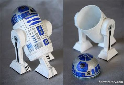 How To Make R2d2 Out Of Paper - diy quot r2d2 mini secret storage box from recycling quot found
