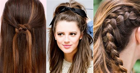 cute hairstyles to wear to school 10 cute hairstyles you can wear to school candy