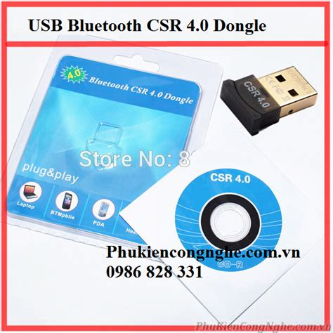 Bluetooth Csr 4 0 Dongle usb bluetooth csr 4 0 dongle cho m 225 y t 237 nh