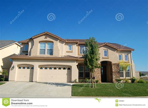 house in california upscale house in california royalty free stock photography image 390887