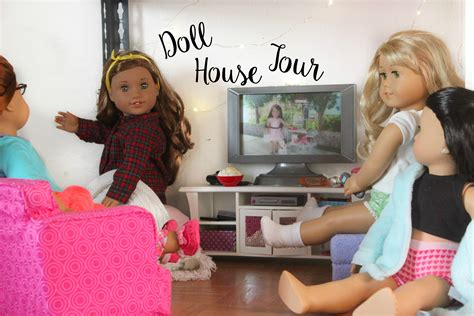 american girl doll house tours huge huge american girl doll house tour youtube